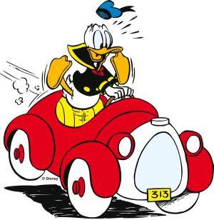 Donald Duck Autokennzeichen
