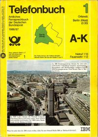 Telefonbuch Berlin